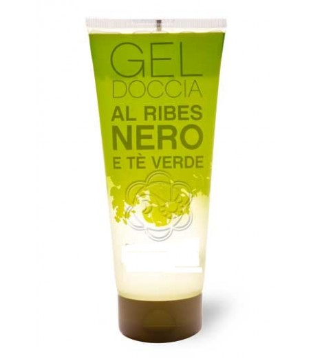 LINEA PHARMAVILLAGE Gel Doccia Ribes Nero e Té Verde 200mL